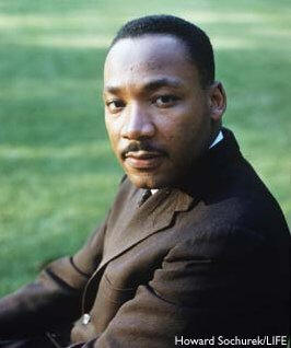 Dr. Martin Luther King was a great and noble king